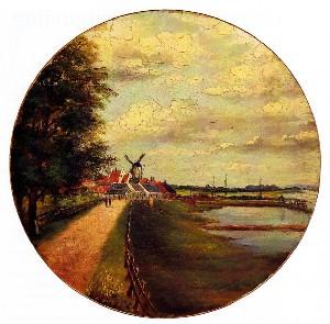 A Het begin - 1122, de dam bij Wijk